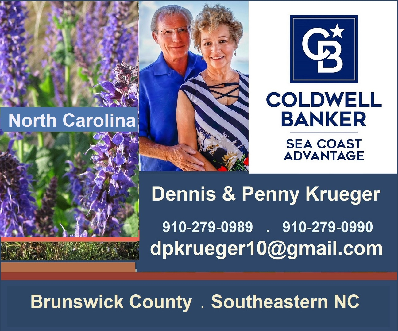 NC Real Estate . Coldwell Banker Sea Coast Advantage . Krueger Team