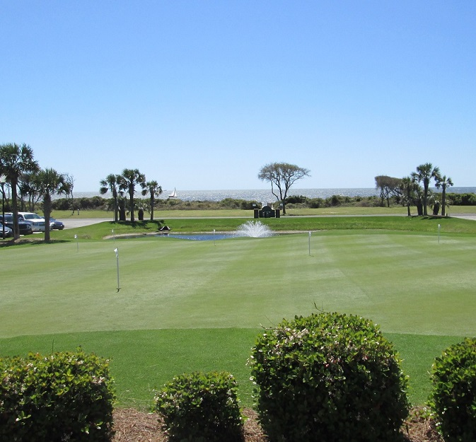 Oak Island NC golf pictures