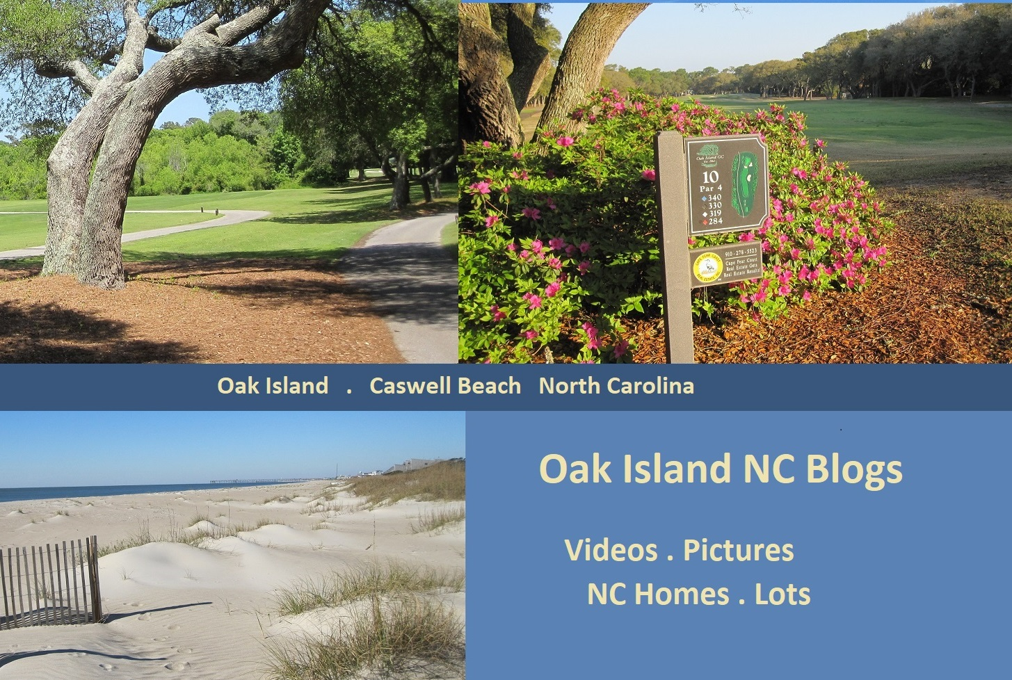 Oak Island NC blogs pictures homes for sale