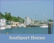 Southport NC Waterfront area