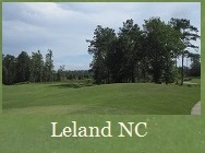 golf course at Leland NC