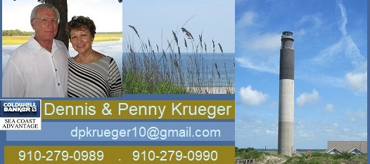 Oak Island NC homes Coldwell Banker Krueger Team
