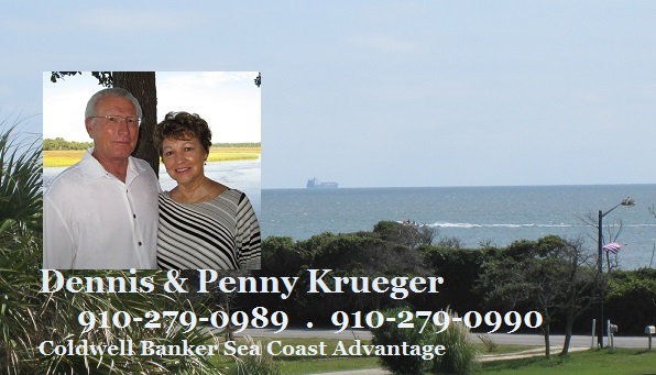 Oak Island NC and Krueger Team pictures