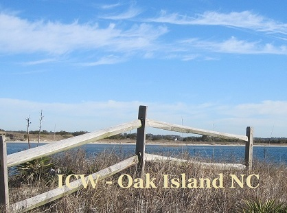 Intracoastal Waterway at Oak Island NC
