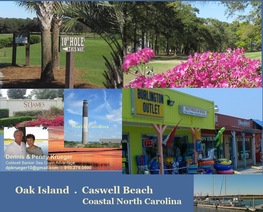 Oak Island and Caswell Beach NC photos