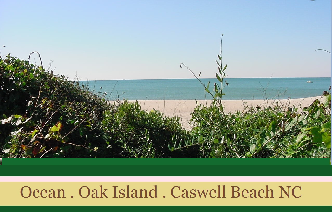 Oak Island and Caswell Beach NC