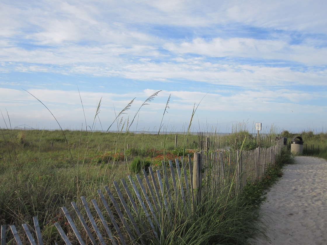 beach ocean photos Oak Island NC