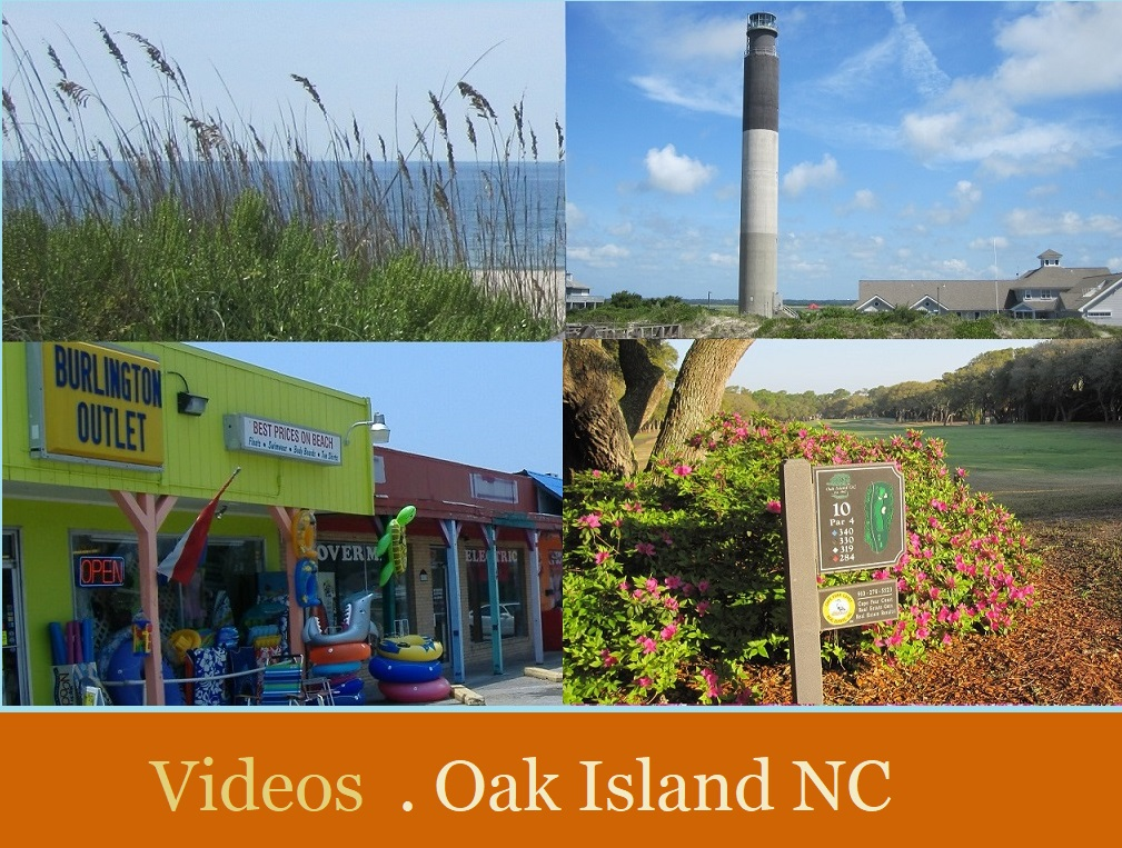 Oak Island Caswell Beach NC pictures videos