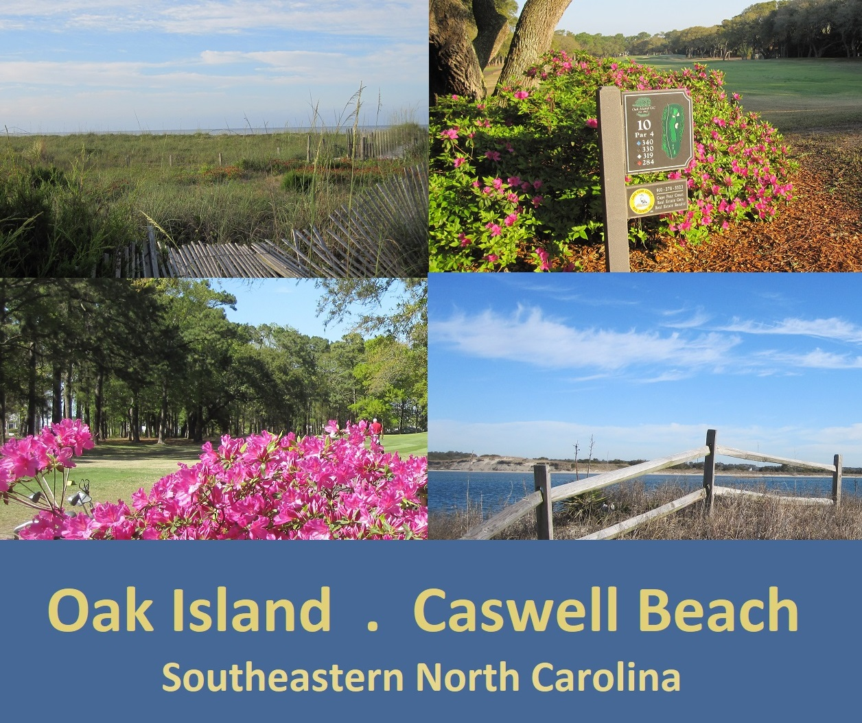 Oak Island Caswell Beach NC photos