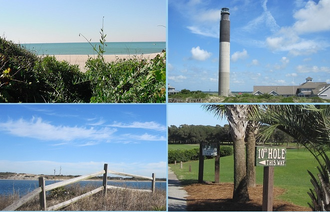 Oak Island NC pictures golf ocean ICW lighthouse