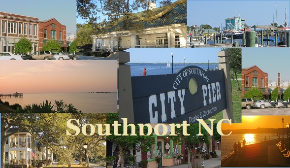 scenes of the Southport NC area