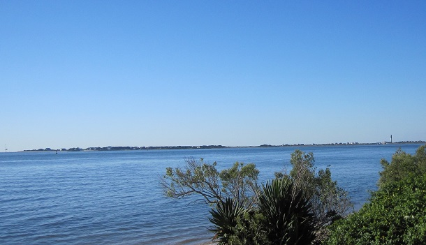 Cape Fear River at Southport NC
