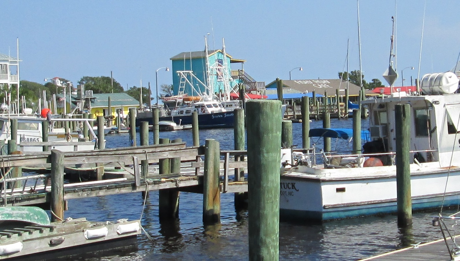 Old Yacht Basin area Southport NC