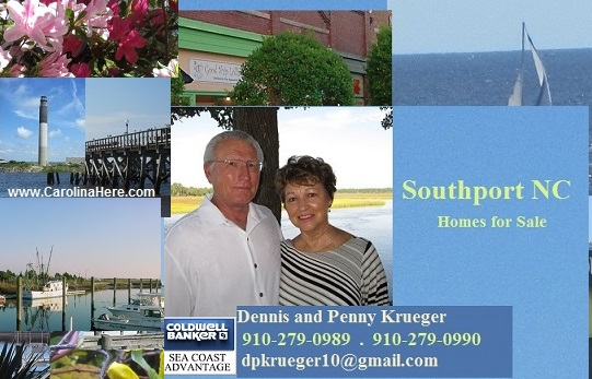 Southport NC pictures and Krueger Team photo