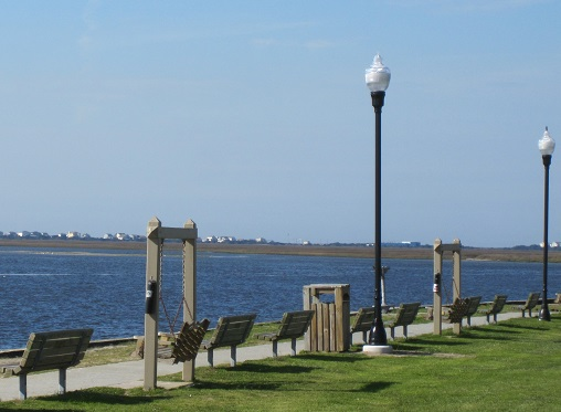 Southport NC Waterfront Park