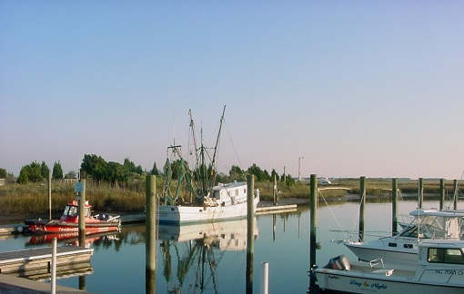 Marina at Southport NC photos