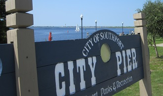 City Pier Southport Waterfront fishing boating