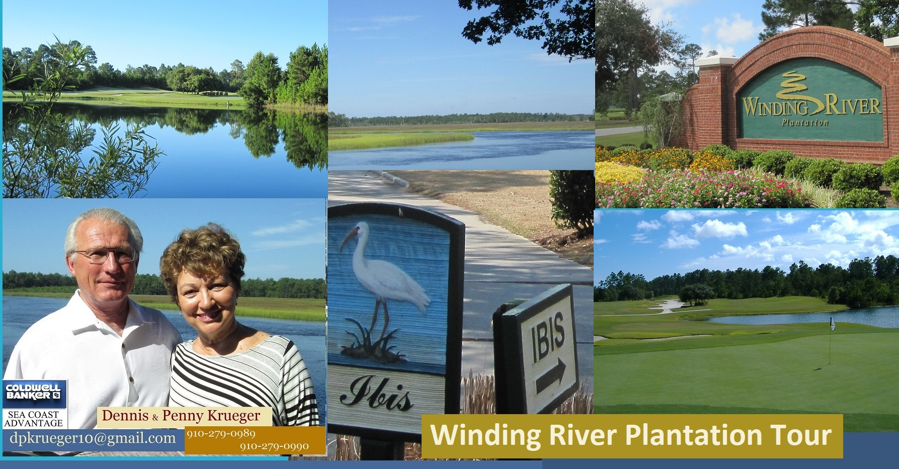 Winding River pictures Tour Krueger Team