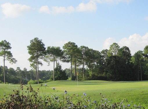 golf course at Winding River Plantation Bolivia NC