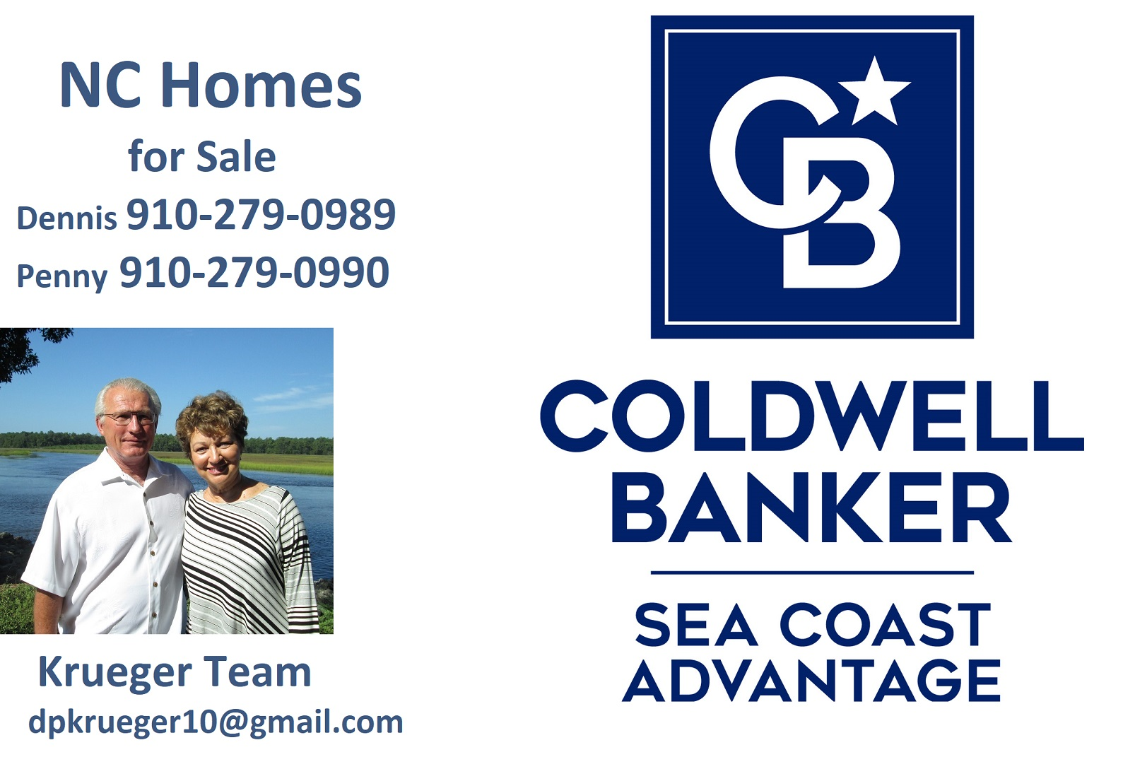 Krueger Team Coldwell Banker Sea Coast Advantage NC Homes