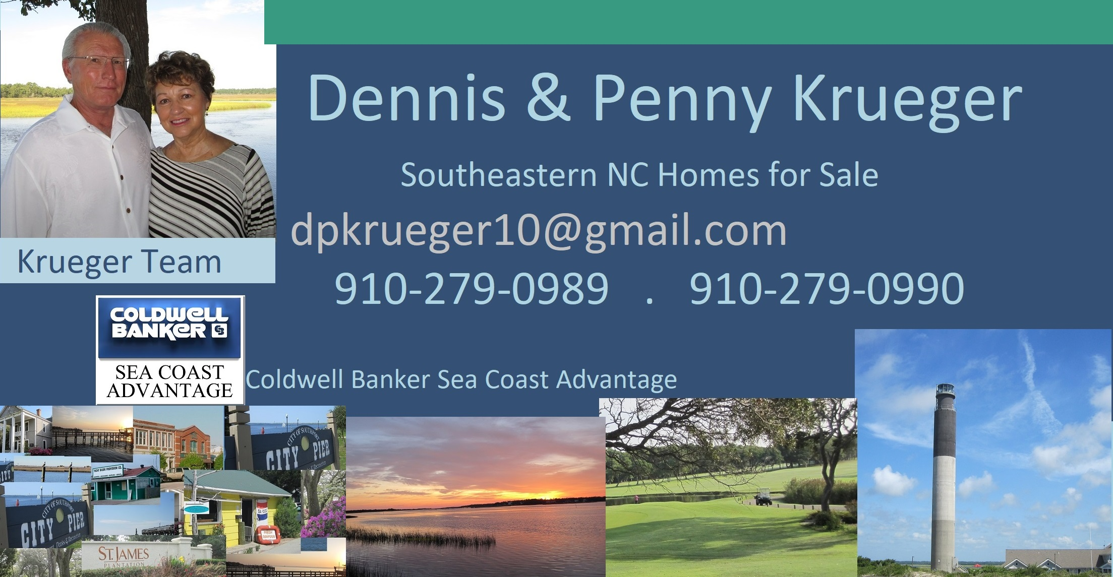 coastal NC Homes Coldwell Banker Krueger Team