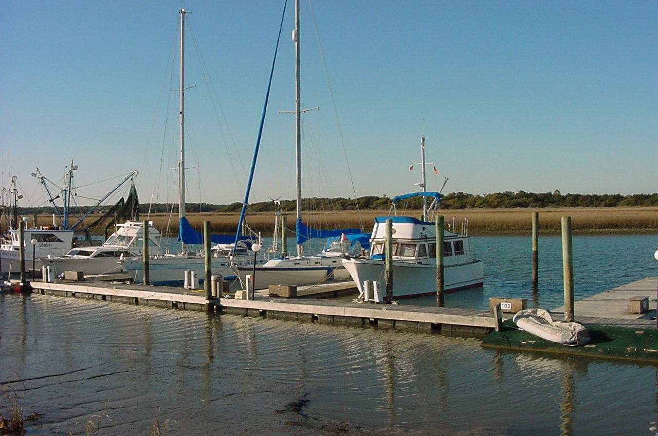 marina at Oak Island NC