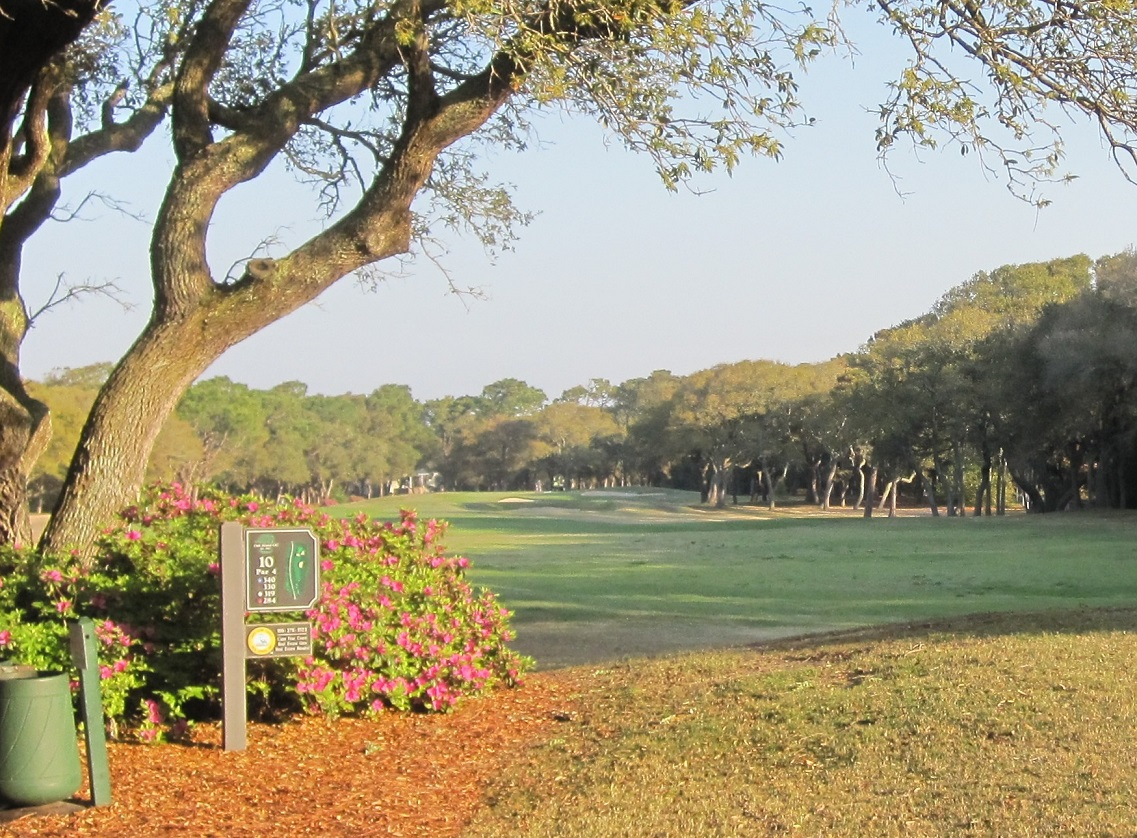 Oak Island Golf Course Coastal North Carolina