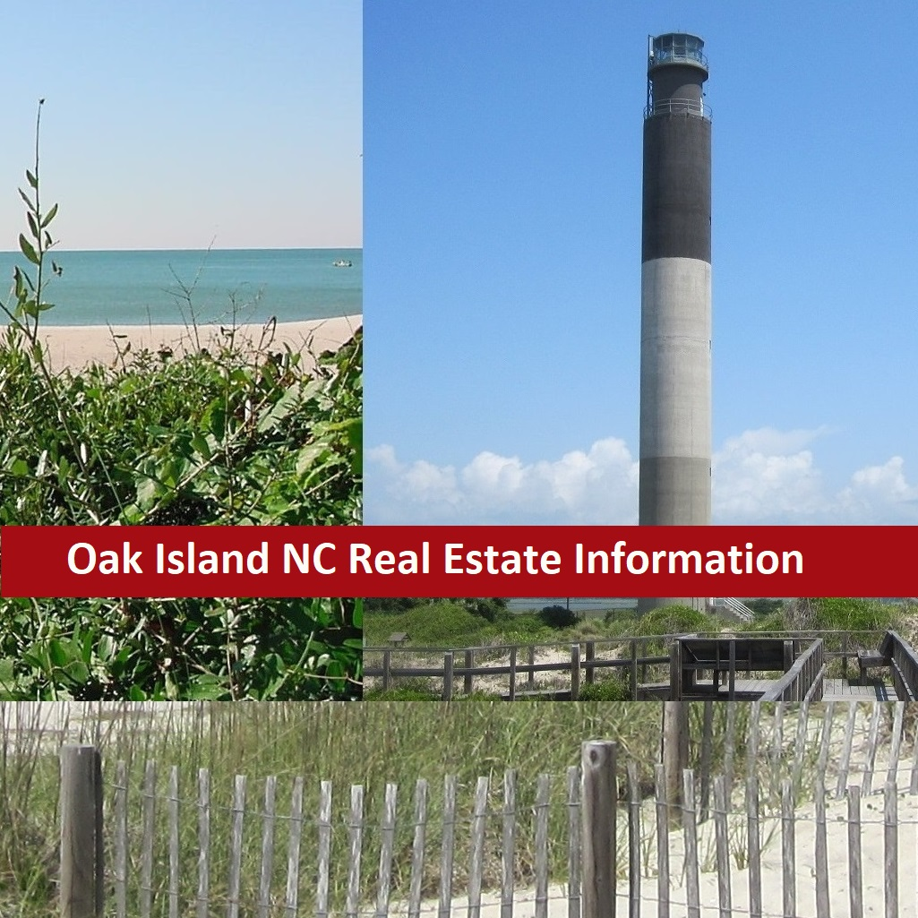 Oak Island NC real estate information photos