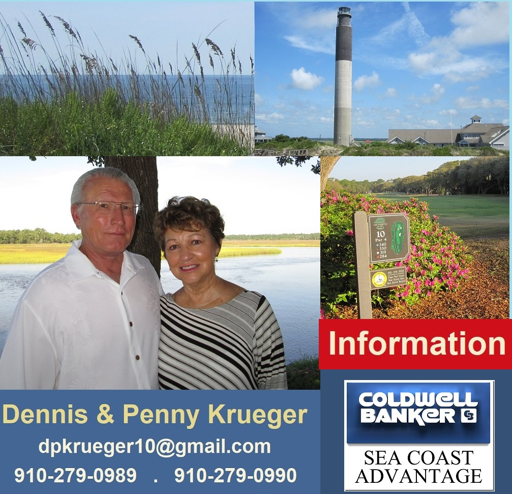 Oak Island NC photos Krueger Team real estate Info