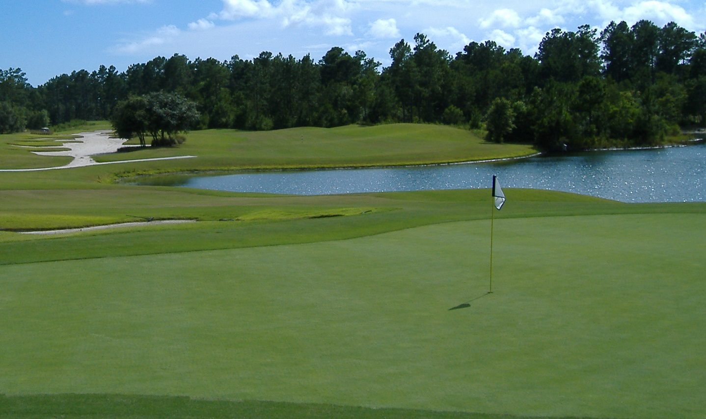 golf course Winding River Plantation Bolivia NC
