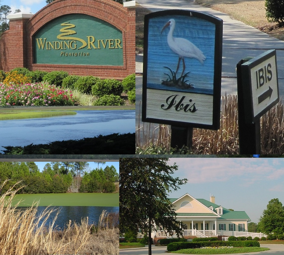 NC golf community Winding River Plantation