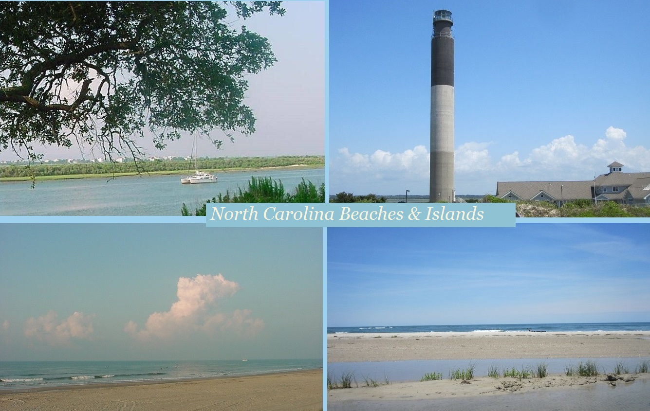 North Carolina beaches and islands
