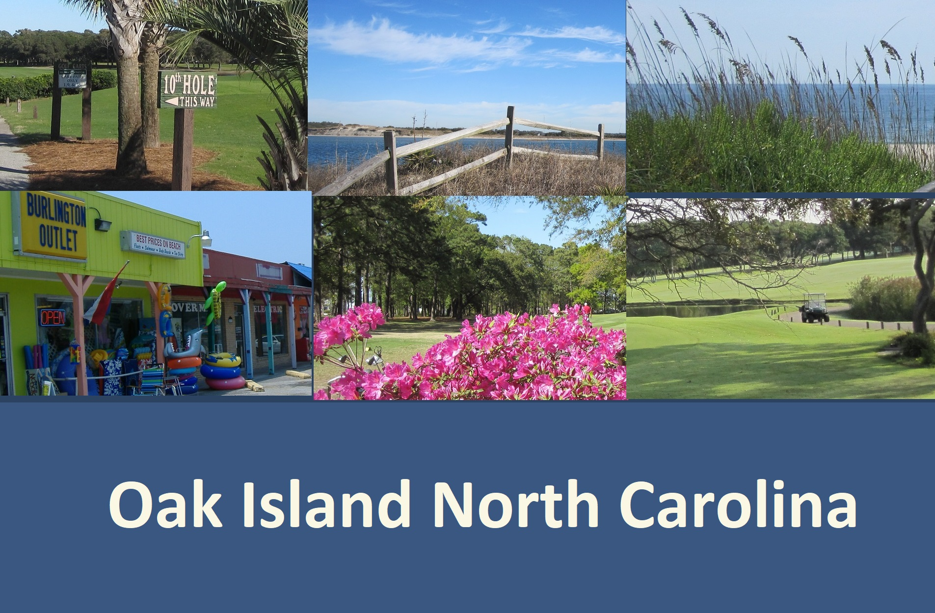 Oak Island NC photographs