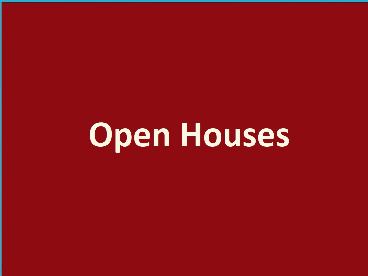 open houses text