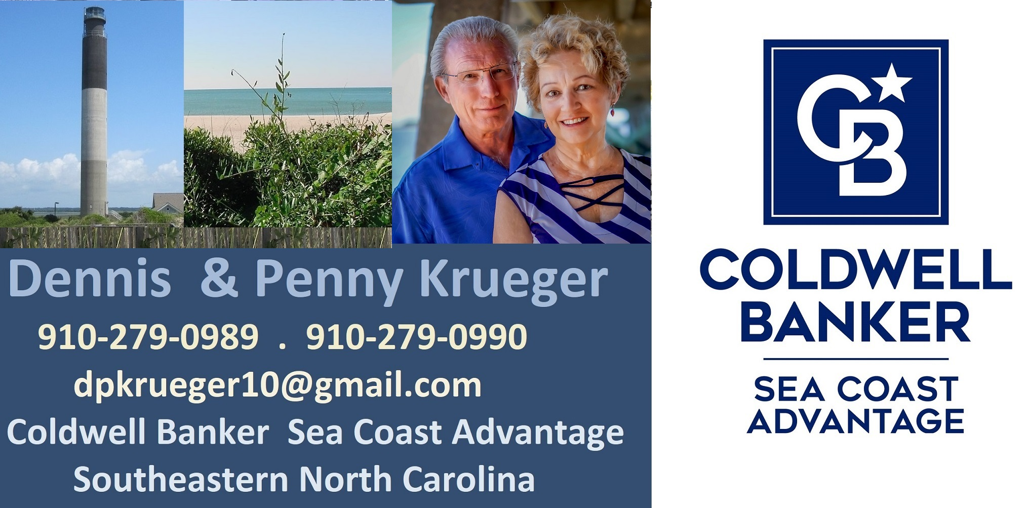 NC Homes Coldwell Banker Sea Coast Advantage Krueger Team
