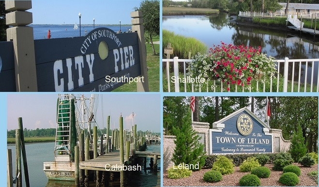 coastal North Carolina towns
