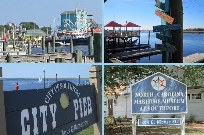See pictures of the Southport NC area.