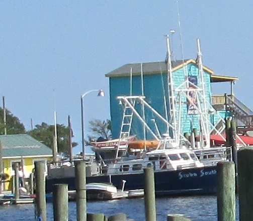Southport NC Yacht Basin area