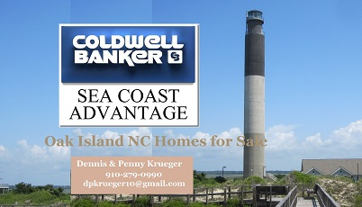 Find Oak Island NC real estate, and view scenes of the Oak Island area