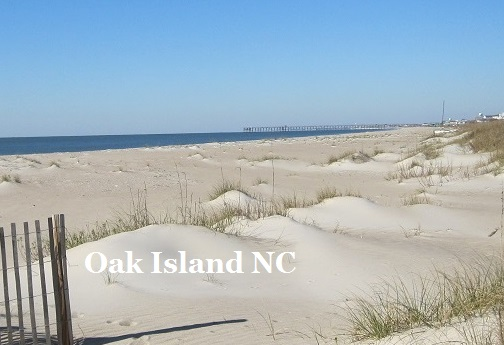 Oak Island NC beach pictures