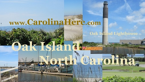 Find Oak Island NC homes and view scenes of the Oak Island area.